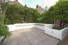 Concrete garden bench SW11