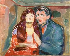 The Seducer-1913 by Edvard Munch