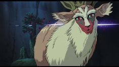 So sad that the Forest Spirit was killed