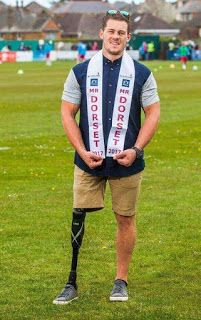 Amputee male model becomes first ever disabled Mr England
