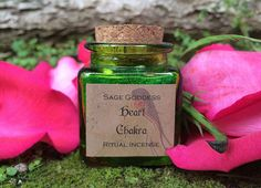 Heart Chakra Ritual Incense for opening to love by TheSageGoddess, $18.00