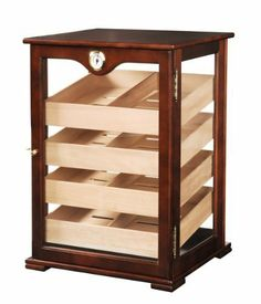 orleans group vg 05s 200 count counter top display humidor cherry color by orleans group