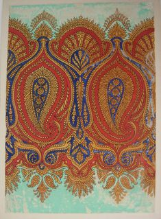 Victorian Paisley shawls, Glasgow School of Art Archives and Collections