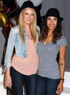 Melissa Ordway (Abby Newman) et Christel Khalil (Lily Amanda WInters)