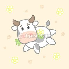 Illustration about Cute cow, drawing for kids. Illustration of bovine, design, abstract - 67388122 Cow Drawing, Drawing For Kids, Drawing Tips, Baa Baa Sheep, Goat Cartoon, Cows Mooing, Kids Vector, Cute Cows, Animal Coloring Pages