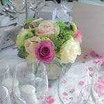 Lovely table flowers
