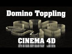 Domino Toppling Animation using Dynamics in Cinema Tutorial Tutorial Sites, Tutorials, Cinema 4d Tutorial, Cheat Sheets, Cgi, Animation, Tips, Movie Posters, Templates