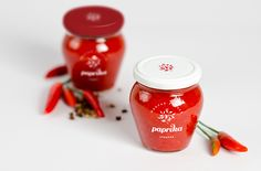 Paprika (Student Project) on Packaging of the World - Creative Package Design Gallery Blog Design Inspiration, Packaging Design Inspiration, Label Design, Branding Design, Package Design, Design Packaging, Graphic Design, Tandoori Masala, Spice Labels