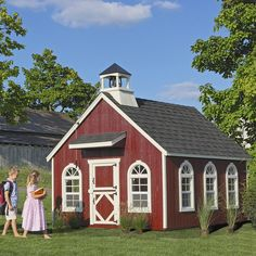 Schoolhouse Wood Playhouse