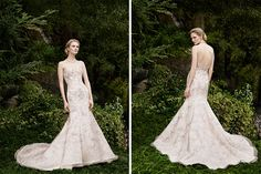 This design by Casablanca Bridal is very popular with us because it is so elegant in its design and the exquisite detail which covers it is out of this world. Any bride who is planning on having a glamorous wedding where everyone is dressed to impress should definitely consider this as their chosen gown.