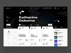 Wireframe Design, Dashboard Design, What Is Futsal, Futsal Court, University Search, Directory Design, Internet News, Modern Web Design, Ui Inspiration
