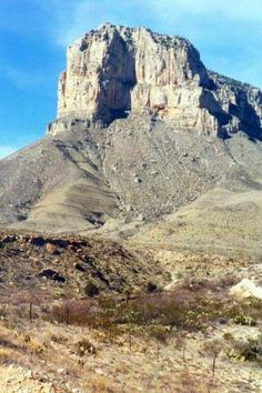 El Capitan, Guadalupe Mountains National Park