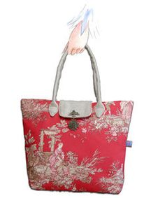 sac_toile_de_jouy_rouge_fa_on_pliable_main