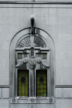 windows ~ Architectural Detail: 100 East Ontario Street at North Rush Street, Chicago