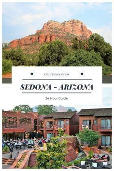 24 hour guide to visiting Sedona, Arizona in the United States. From where to stay, eat and what to do.