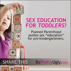 Defund Planned Parenthood and protect our children! www.itsprettyugly.com