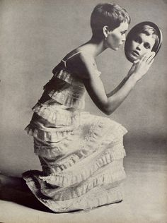 Mia Farrow | Richard Avedon #photography | Vogue 1966 | via tumblr