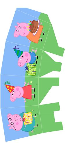 182 Best Peppa Pig Party Images Pig Party Peppa Pig Pig Birthday
