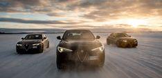 Alfa Romeo star in Lapland