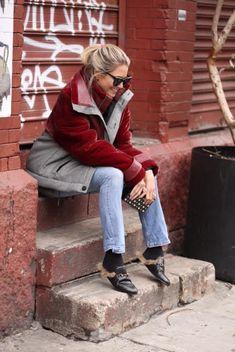 HELENA BORDON - NYFW AW17 – DAY 3 – LOOK 2 - FLAY GUCCI - PARKA ZADIG & VOLTAIRE