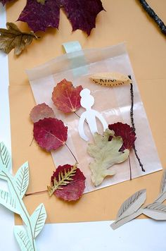 """Are you looking for a nature project to make with kids? Make Fairy Leaf Puppets. Can you resist the charms of an Autumn leaf? Everything about them sets my imagination spinning and my pockets full. Let's get """"leafy"""" today! Inspired by imagination, fueled with imagination, make Leaf Fairy Puppets or use these as Leaf Autumn Leaves Craft, Autumn Crafts, Nature Crafts, Summer Crafts, Diy For Kids, Crafts For Kids, Fun Arts And Crafts, Leaf Crafts, Creative Workshop"""