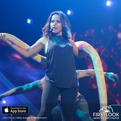 MIAMI, FL - JULY 12: Becky G performs during rehearsals Univisions Premios Juventud Awards