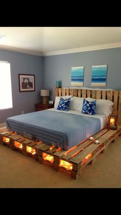 Like this bed frame idea
