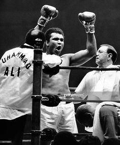 Not from March 7 1971 but he really is THE GREATEST! #MuhammedAli.  Ali vs. Shavers September 29 1977 at Madison Square Garden NYC.
