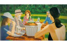 'Summer Picnic,' 1975, Alex Katz