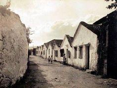 Casas de mariñeiros en Pontevedra (1929)