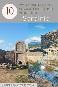 Visit the best archaeological sights in north Sardinia: Nuraghe, Giant's Tombs & Holy Wells Archaeological Site, In The Heart, Athens, Archaeology, Strand, Monument Valley, Mount Rushmore, Wilde, Italy