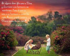"""Son palabras muy fuertes, y más si tenemos en cuenta que Jesucristo también llamó """"homicida"""" y """"mentiroso"""" al Diablo (Juan 8:44). ¡Que nunca nos sean aplicables estos términos! Si enseñan a los hijos a amar a sus hermanos cristianos, también les estarán enseñando a amar a Jehová Dios."""
