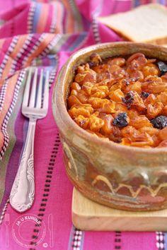 Prebranac- baked beans (Serbian food)