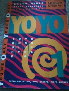Object #16 Scripture Union young people's bible study book 'Yoyo' 1992