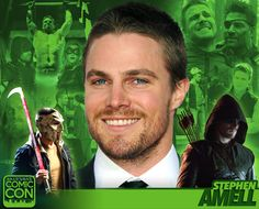 *PIN to WIN* Meet actor Stephen Amell at #SLCC16 on Saturday, 9/3! Green Arrow in the Arrowverse and Casey Jones in TMNT2! #utah