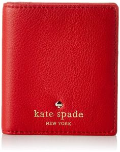 kate spade new york Cobble Hill Small Stacy Wallet Deep Blaze �