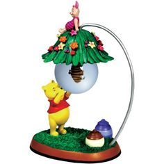 BESTSELLER! Westland Giftware Winnie The Pooh Beehive Pooh and Piglet Glass Ball Figurine $23.00