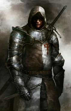 """""""They generally wore white, but this was obscured by leather and bits of mail, their weapons primarily long swords.""""  The Farothers men."""