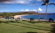Four Seasons Manele Bay, Lanai, Hawaii.  Hulopo'e Beach.