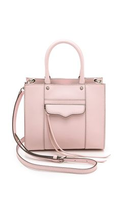 Rebecca Minkoff   Bags   Cross Body Bags DESCRIPTION A scaled-down version of a timeless Rebecca Minkoff tote. A tassel pull closes the zi...