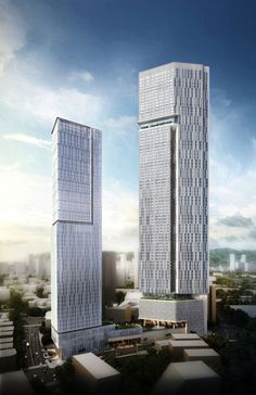 Oberoi Oasis Tower, Mumbai, India by Kohn Pedersen Fox Associates :: 82 floors, height 372m