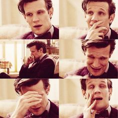 This-->>At first I thought the Doctor was crying about Trenzalore, but he's not. The Doctor does not get emotional when it concerns himself. No, It's about River. The Doctor has kept River tucked away in his memory for so long. He hasn't mentioned her to anyone, just tried to remember the good times and forget the bad. But now, in this scene, Clara mentions River, and the emotions the Doctor has kept bottled up for so long come tumbling out.