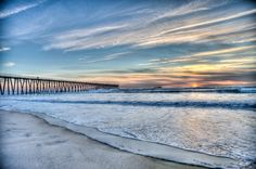 Rosarito has one of the most beautiful beaches and it's only an hour away from the border!