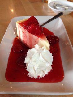 Chianti's strawberry cheesecake. Nummy!
