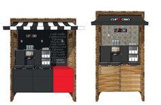 Wer für seinen Coffee-Shop im Büro oder Betrieb ein sehr gemütliches Ambiente bevorzugt, dem empfehlen wir unsere Serie PIAZZA Rustico!