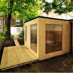 Shedworking: London's most economic garden studio?