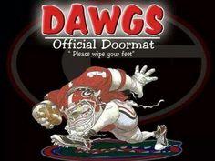 Dawgs official Doormat