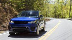Внедорожник Range Rover Sport SVR 2016 / Рендж Ровер Спорт SVR 2016 – вид спереди