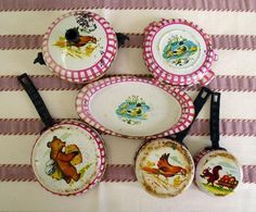 Enamel France フランスアンティークホーローおままごとセット玩具 インテリア 雑貨 家具 Antique ¥5000yen 〆10月11日