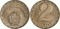 2 Forint - 1 gomboc fagyi Hungary History, Old Money, My Roots, My Childhood Memories, My Memory, Coin Collecting, Old Photos, Retro Vintage, Nostalgia